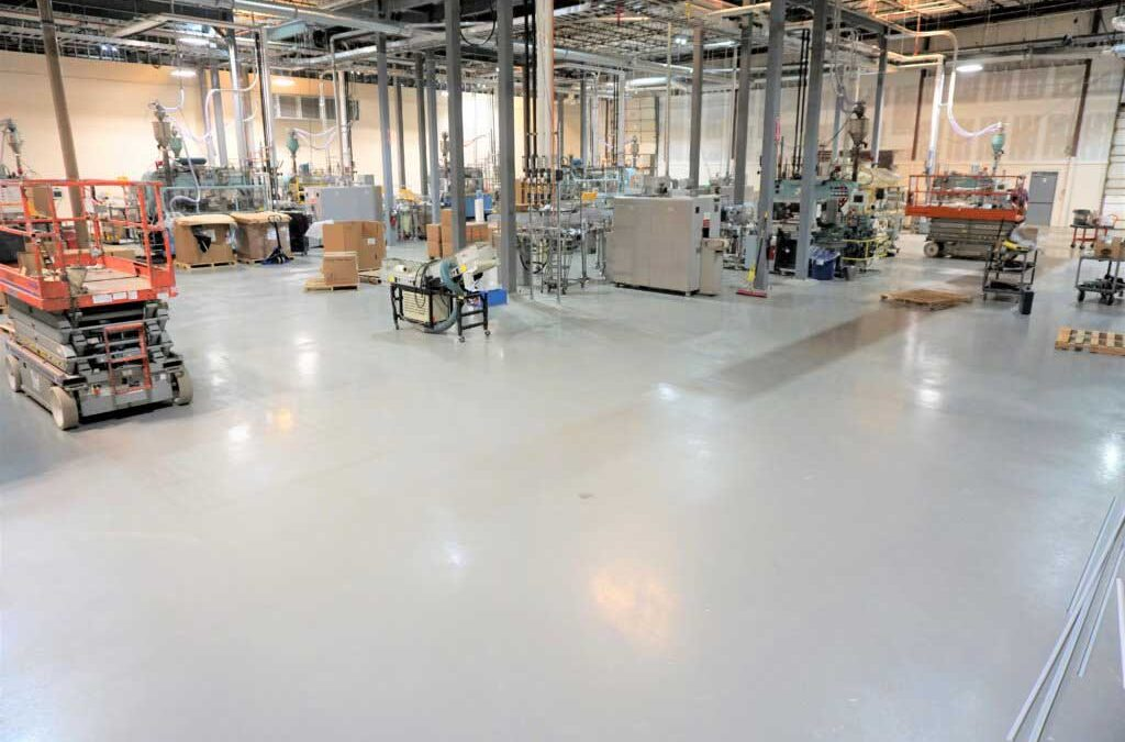 Top 8 Benefits of Commercial Epoxy Floors.